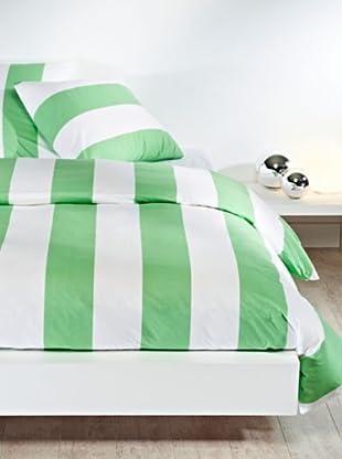 Mistral Home Bettwäsche-Set Mykonos in 3 Größen (grün)