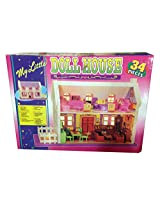 Saluja Toys Complete Doll House / Doll House Play Set
