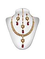 Niki Jewels HG Copper Base Neckalce for women (Multicolour) (021 001 64)