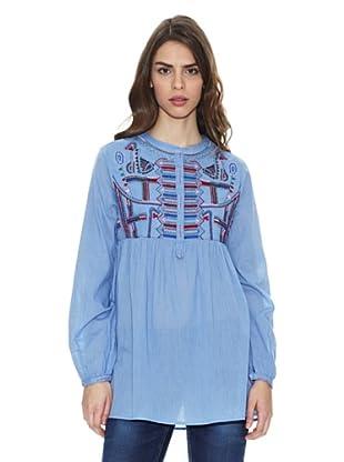 Peace & Love Camisa Ko Chang (Azul / Lila)