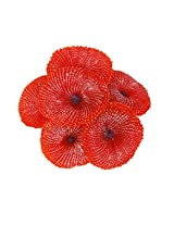 Imported Artificial Coral Plant Fake Soft Ornament Decor For Aquarium Fish Tank Red