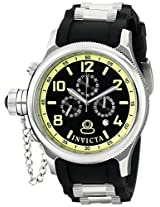 Invicta Watches, Men's Russian Diver Chronograph Black Dial Black Polyurethane, Model 1798