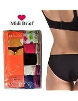Seasons Hushh Pack Of 5 Women Midi Brief Panties B110B1103MX_Multi