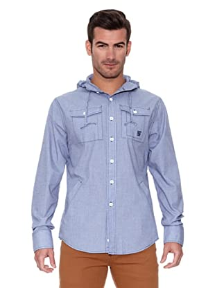 New Caro Camisa Estructura (Azul)