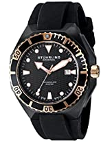 Stuhrling Original Analog Black Dial Men's Watch - 823.02