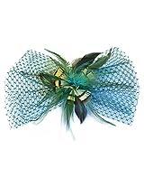 Feather Hair Clip Cum Brooch By Via Mazzini (HA0015)