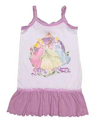 Disney Princess Pijama Niña Tirantes (Malva)