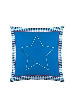 Lief Funda de Cojín Big Star (azul / blanco)