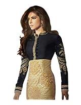 Styliner Beautiful Semi Stitched Anrakali Suit