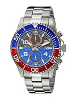 Invicta Analog Blue Dial Men's Watch - 18517