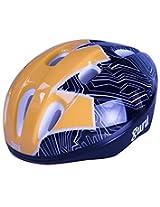 Guru Skating / Cycling Adjustable Helmet Yellow Black (Large)