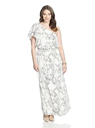 Jessica Simpson Women's One Shoulder Maxi Dress (Multi)
