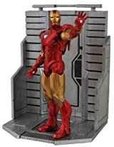 Diamond Select Toys Marvel Select Avengers Movie Iron Man MK VI Action Figure, Multi Color