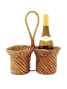 Global Amici Caribbean Wine Basket, Natural