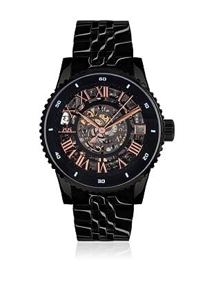 Hindenberg Reloj automático Man 330-H Starlifter PVD Negro 42.0 mm