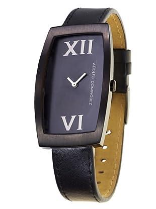Adolfo Dominguez Watches 35001 - Reloj de Señora cuarzo correa piel Negra