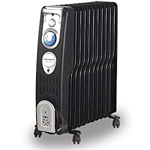 Morphy Richards OFR1100 2500-Watt Oil Filled Radiator (Black)