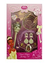 Disney Princess Royal Tiana Deluxe Jewelry Set