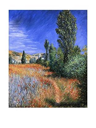 LegendArte Lienzo Paesaggio A Saint-Martin di Claude Monet