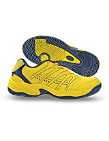 Nivia Men's Zeal PU Yellow Tennis Shoes  - 11 UK