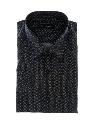 Pierre Clarence Camisa de manga corta (Azul Marino)