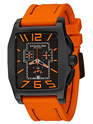 STÜRLING ORIGINAL 204A.3356F57 - Reloj de Caballero movimiento de cuarzo con correa de silicona