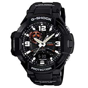 Casio G-Shock GA-1000-1ADR (G435) Twin Sensor Watch - For Men