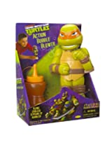Little Kids Teenage Mutant Ninja Turtles Action Bubble Blower, Michelangelo