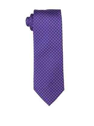 Yves Saint Laurent Men's Double Dot Tie, Pink/Blue