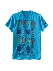 Spenglish Men's Beaner Done That T-Shirt (Neon Blue Heather)