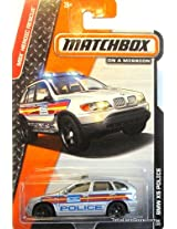 2014 Matchbox MBX Heroic Rescue BMW X5 Police - [Ships in a Box!]