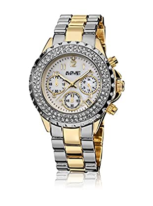 August Steiner Reloj de cuarzo Woman AS8031TTG Plateado / Dorado