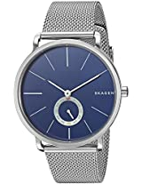 Skagen End-of-season Hagen Analog Blue Dial Men's Watch - SKW6230