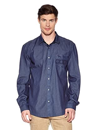 Selected Camisa Deer  M (Azul Oscuro)