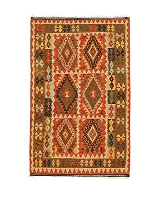 Eden Teppich Kilim-P rot/mehrfarbig 127 x 192 cm