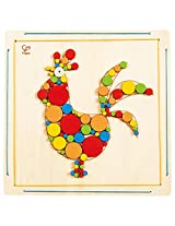 Hape - DIY Crafts - Rooster Wooden Mosaic Wall Art Kit