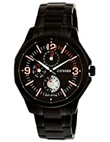 Citizen Eco-Drive Analog Black Dial Men's Watch AP4005-54E