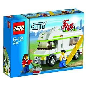 レゴ シティ レゴの町のキャンピングカー#7639外箱の写真