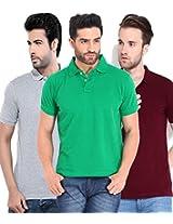Concepts Men's Casual Shirt (TSHT_C3_GRYWMR_Multi_42)