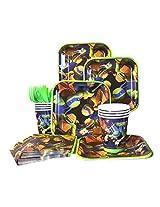 Teenage Mutant Ninja Turtles Party Standard Kit (Serves 8)