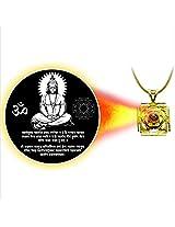 Dijyo Divine Darshan Gold Plated Hanuman Mantra Pendant For Unisex