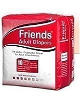 Friends Adult Diapers (10 pcs)