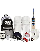 GM Cricket Set Jr. Complete Kit With Helmet