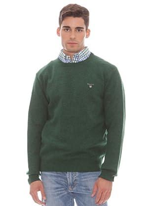 Gant Jersey Liso Redondo (Verde)