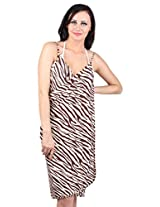 Cross Front Beach Cover Up Dress, NYB093