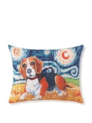 Van Growl Beagle Pillow