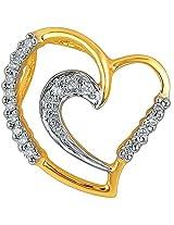 Asmi 18k Yellow Gold and Diamond Pendant