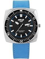 Helix Reef Analog Black Dial Men's Watch - 09HG03