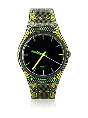 Swatch Quarzuhr Unisex Unisex SNAKY GREEN GB253 34.0 mm
