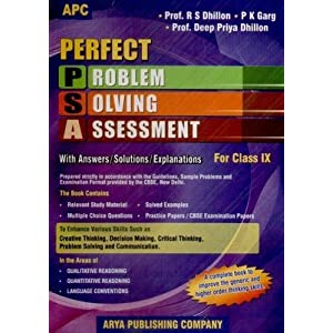 Perfect PSA Problem Solving Assessment with Answers / Solutions / Explanations (Class 9)
